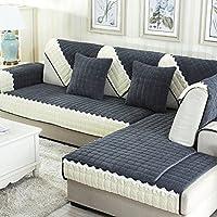 JINGJIE Funda de sofá,Felpa Anti-Que Patina Protector para sofás Simple Moderno Decoración Limpia Funda para sofá Vendido por Pieza-A 110x240cm(43x94inch)