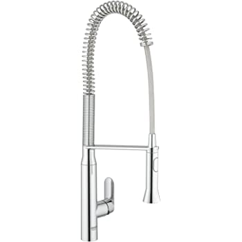GROHE 32950000 | K7 Kitchen Tap | Professional Large - Chrome