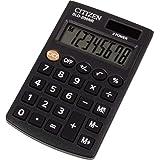 Calculadora de bolsillo Citizen SLD-200NR, Negro