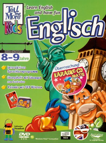 - Learn English and have fun plus Karaoke Audio-CD: 8-9 Jahre, The City / DVD-ROM - A word a day Kalender + Headset Paket plus Karaoke Audio-CD ()