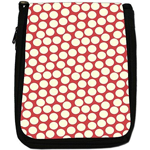 Fancy A Snuggle, Borsa a spalla donna Multitude of Red & Cream Dots