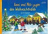 Anni und Nils jagen den Weihnachtsdieb: Ein Krimi-Adventskalender zum Vorlesen und Ausschneiden