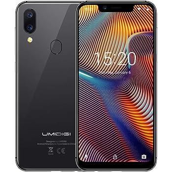 ... 4G LTE Teléfono Móvil, 19:9 Pantalla Infinita, Android 8.1 Quad Core 3GB+32GB, Cámaras 12MP+5MP+8MP, Reconocimiento Facial, Sensor de Identidad Touch ID
