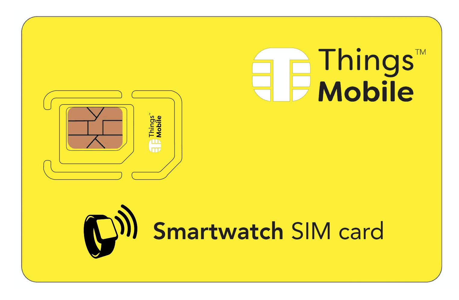 Tarjeta SIM para smartwatch / reloj inteligente - GSM / 2G / 3G / 4G - ideal para smartwatch / reloj inteligente con un… 1