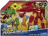 Marvel Avengers Hero Mashers Hulkbuster Vs Hulk Action Figure Set - p
