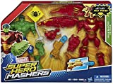 Hero Mashers - B1916eu40 - Figurine Cinéma - Marvel Iron Man Mk 44 Vs Hulk