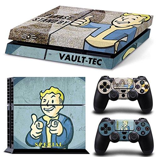 GameCheers PS4 Konsole and DualShock 4 Controller Skin Set - Vault Cola FO4 - PlayStation 4 Vinyl VII 7