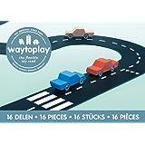 waytoplay 16 Expressway, Schwarz mit Weiß Striping
