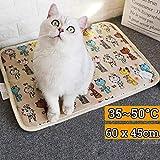 Haustier elektrische Heizung Matte Heizung Pad Katze Hund Bett Körper Winter wärmer Teppich Haustier elektrische Decke beheizt Sitz für Katzen Hunde