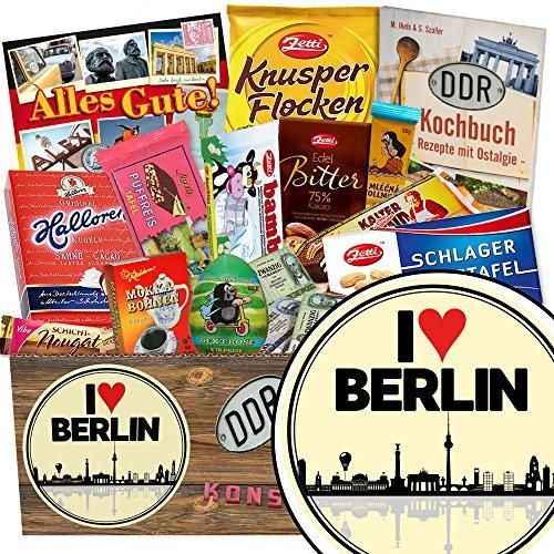 I love Berlin | Schokolade Paket | Geschenkideen | I love Berlin | Geschenk Eltern Berlin | Geschenk Umzug nach Berlin | mit Viba, Zetti und mehr