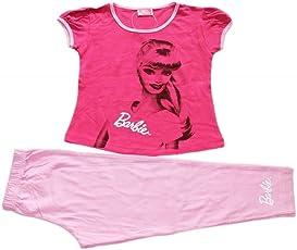 Barbie Girls Printed Night Suit