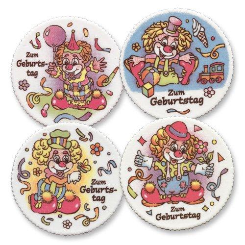 m Geburtstag mit Clown Motiven (Clown Dekor)