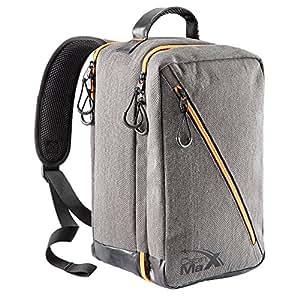 Oxford Stowaway Bag - 20x35x20cm - Carry élégant sur la cabine sac parfait pour allocation de sac Ryanair Deuxième (Gris)