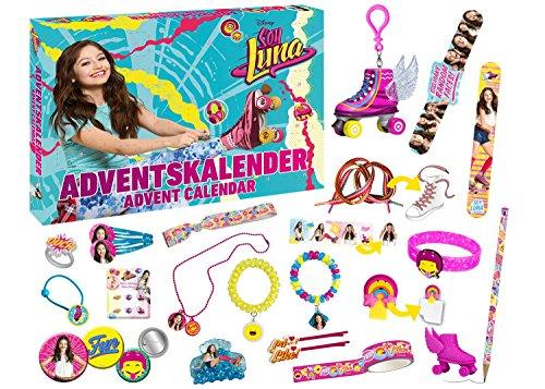 Calendrier De Lavent Soy Luna.Disney 57408 Soy Luna Calendrier De L Avent Figurines Bijoux Accessoires