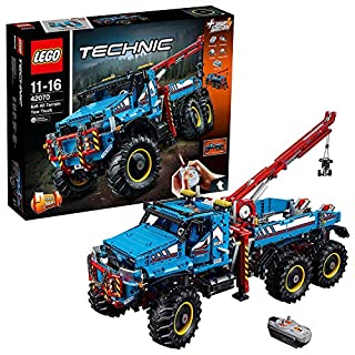 LEGO Technic 42070 - Camion Autogrù 6x6, Multicolore, 63 cm (B06WVBM7K2) | Amazon price tracker / tracking, Amazon price history charts, Amazon price watches, Amazon price drop alerts