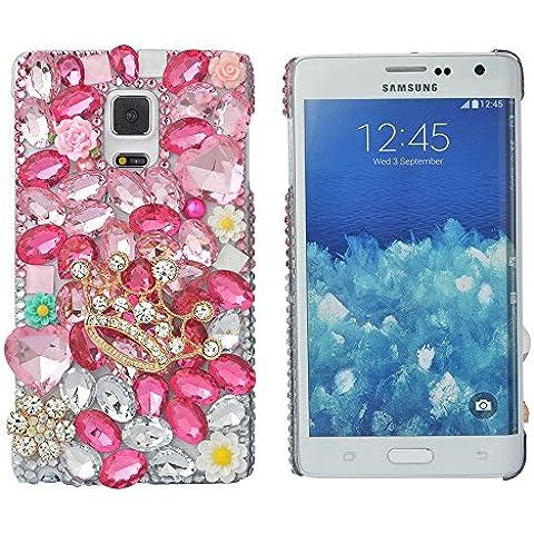 'Spritech (TM) Bling Cover, 3d Handmade design colorato cristallo trasparente rigida per cellulare