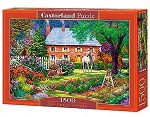 CASTORLAND The Sweet Garden 1500 pcs Puzzle - Rompecabezas (Puzzle Rompecabezas, Hada, Niños y Adultos, Niño/niña, 9 año(s), Interior)