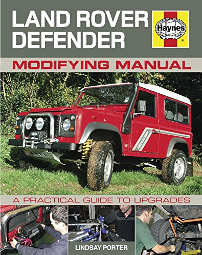 Land Rover Defender Modifying Manual: A practical guide to upgrades (Haynes Modifying Manuals) por Lindsay Porter