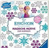 Disney kreativ: Die Eiskönigin - Magische Motive zum Ausmalen: Mit Stickern zum Dekorieren