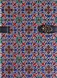 Boncahier Azulejos de Portugal - blauw rood groen goud
