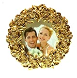 #5: 24k Gold Plated Photo Frame (Size 5/7) For Exclusive Gifts For Diwali, House Warming, Wedding, Anniversary