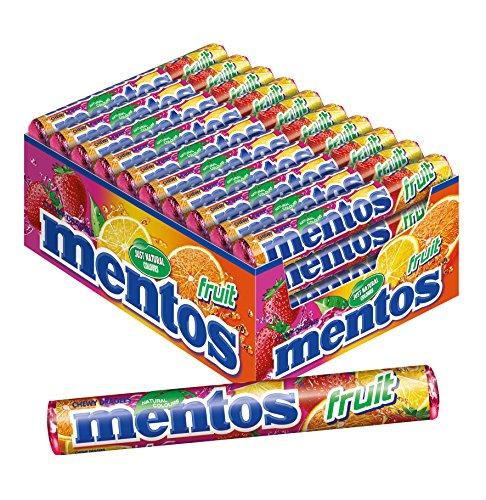 mentos-fruit-dragees-frucht-geschmack-mit-orange-zitrone-erdbeere-karton-mit-40-rollen-bonbons-multi