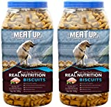 #4: Meatup Chicken Flavour Real Chicken Biscuit, Dog Treats,500g (Buy 1 Get 1 Free)
