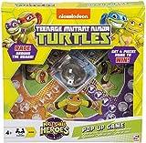 Teenage Mutant Ninja Turtles Pop Up Game Frustration Family Board Game TMNT