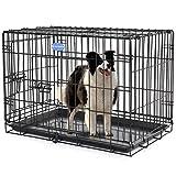 Songmics-Jaula-metlica-para-perros-Transportn-plegable-para-mascotas