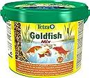Tetra Pond Goldfish Mix, Hauptfuttermischung für die tägliche Fütterung aller Goldfische im Gartenteich, 10 L