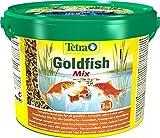 TETRA Pond Goldfish Mix - Aliment Complet pour Poisson Rouge de Bassin de Jardin - 10L