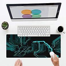 Haofengjing Mauspad Gaming Mouse Pad Mit Glatter Oberfläche Und Rutschfestem Gummiboden Große Maus Matte 400X800X2Mm