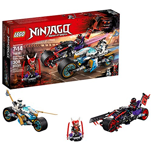 Lego Ninjago Street Race of Snake Jaguar 70639 (308 Teile)