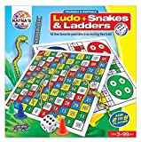 #4: Ratnas Foldable & Portable Ludo + Snakes and Ladder Game