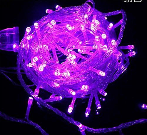 LUCKY CLOVER-A LED Fairy String Lampe, 100 Meter 800 LED Multi Color wasserdicht Indoor Outdoor Christmas Tree Halloween Hochzeit Party Dekoration-8 blinkende Modi, Speicher-Funktion , ()