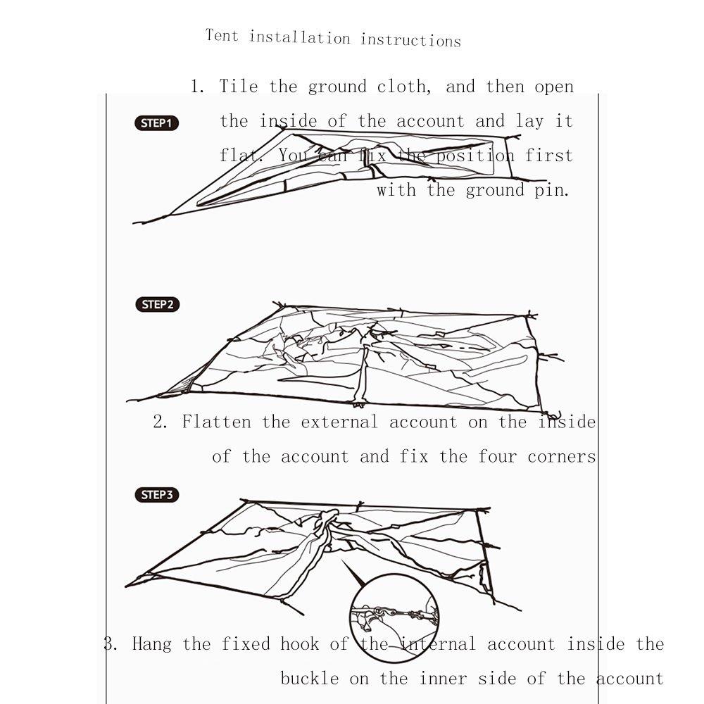 Huifang Frame Tents Qffl Zhangpeng Tent Single Double Rain Tent