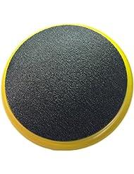 Yellow Padded Bucket Lid Yellow Frame/Black Pad by Bucket Lidz by Bucket Lidz