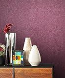 NEWROOM Tapete pink Vliestapete rosa violett Modern,universell schöne moderne und edle Design Optik , inklusive Tapezier Ratgeber