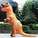 Aufblasbare Dinosaurier T-Rex Kostüm – Adult eine Größe Kostüm Halloween Outfit – mit Batterie betriebenen Ventilator - 5