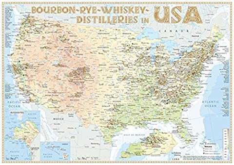 Whiskey Distilleries USA - Poster 60x42cm Standard Edition: The Whisky