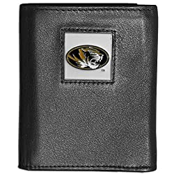 NCAA Missouri Tigers Deluxe Leather Tri-fold Wallet