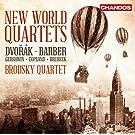 New World Quartets [Brodsky Quartet] [Chandos: CHAN 10801]