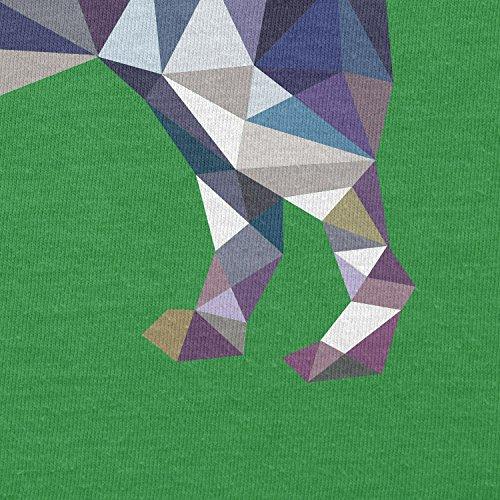 TEXLAB–Poly Dog–Sacchetto regalo in tessuto Verde