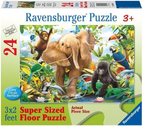Dans l'attente de la ville, retenant votre souffle Jungle Juniors 24 PC Floor Puzzle   La Boutique En Ligne