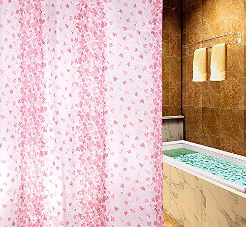GYMNLJY Tenda doccia Tenda di acquazzone floreale piccolo seta impermeabile 170 * 180 , 170cm*180cm