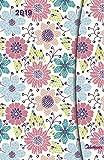 Taschenkalender Small - Flowers - mit Magnetverschluß - Kalenderbuch A6-14 Monate - Kalender 2019 - teNeues-Verlag - Taschenplaner mit Lesebändchen und Zetteltasche - 10 cm x 15 cm