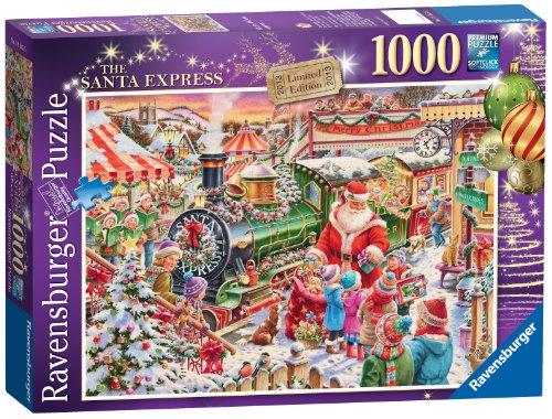Weihnachtsfigur 1 Lok und 3 Waggons