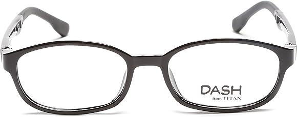 Dash Full Rim Rectangular Unisex Spectacle Frame - (D1137D1A1|46)