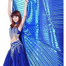 Calcifer® marca nueva egipcio Egipto alas para danza del vientre Isis alas disfraz regalo para