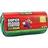 Trousse à deux compartiments motif cosplay, manga, anime - Parfaite pour étudiant et adolescent Super Mario